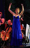Night on Broadway Part III, Soloists from Broadway Theatres (Christiane Noll, Capahia Jenkins, Rob Evan), Conductor: Randall Craig Fleischer, 17.7.2010, 19th International Music Festival Český Krumlov, source: Auviex, s.r.o., photo by: Libor Sváček