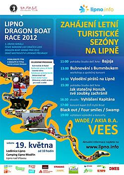 Lipno Dragon Boat race