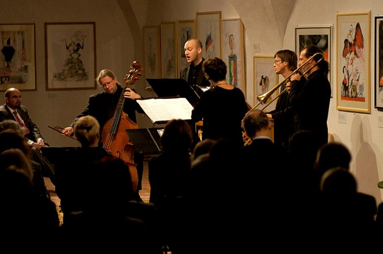 CONCERT OF ITALIAN SACRED MUSIC OF THE 17th CENTURY, Dolce Risonanza (Austria), 21. 9. 2012