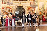 Baroque Night on the Český Krumlov Castle ® and baroque pantomime with music of Antonio Vivaldi's, 28.6 and 29.6.2013, Chamber Music Festival Český Krumlov, photo by: Lubor Mrázek
