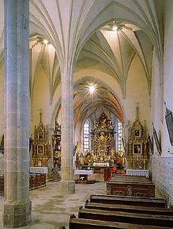 Kájov, Church of Pilgrimage, interior, foto: Libor Sváček