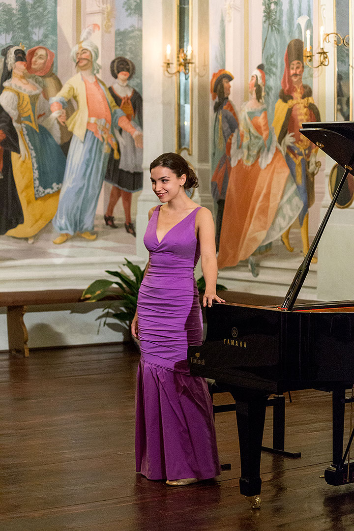 Nocturne, Olga Scheps (piano), A candle-lit concert with a glass of wine, 4.7.2014, Chamber Music Festival Český Krumlov