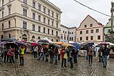 Saint Wenceslas Celebrations and 18th Annual Meeting of Mining and Metallurgy Towns of the Czech Republic in Český Krumlov, 26.9.2014, photo by: Lubor Mrázek