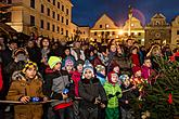 1st Advent Sunday - Music- and Poetry-filled Advent Opening and Lighting of the Christmas Tree, Český Krumlov 27.11.2016, photo by: Lubor Mrázek