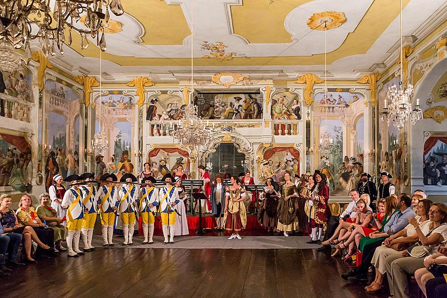 Baroque Night on the Český Krumlov Castle ® 23.6. and 24.6.2017