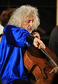 Mischa Maisky /cello/ a Shiran Wang /piano/, 20.7.2017, 26th International Music Festival Český Krumlov 2017, source: Auviex s.r.o., photo by: Libor Sváček