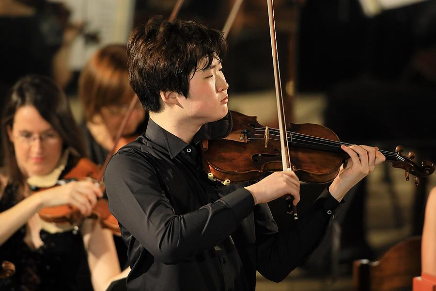 Da Yoon You /violin/, South Czech Philharmonic, Jan Talich /conductor/, 25.7.2017, 26. Internationales Musikfestival Český Krumlov 2017