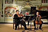 Smetana Trio, 2.8.2017, 26th International Music Festival Český Krumlov 2017, source: Auviex s.r.o., photo by: Libor Sváček