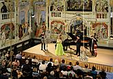 Marcela Cerno /soprano/, Daniel Serafin /baritone/ and Janoska Ensemble, 3.8.2017, 26th International Music Festival Český Krumlov 2017, source: Auviex s.r.o., photo by: Libor Sváček