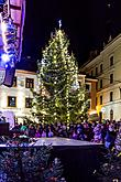 1st Advent Sunday - Music- and Poetry-filled Advent Opening and Lighting of the Christmas Tree, Český Krumlov, Český Krumlov 3.12.2017, photo by: Lubor Mrázek
