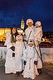Angelic Procession Through Town Český Krumlov 8.12.2017, photo by: Lubor Mrázek
