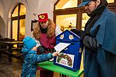 Baby Jesus Postal Office at U Zlatého Anděla and arrival of the White Lady, 10.12.2017, photo by: Lubor Mrázek