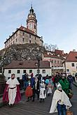 Three Kings, 6.1.2018, Advent and Christmas in Český Krumlov, photo by: Lubor Mrázek