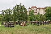 Ceremonial act on the occasion of the 73rd anniversary of the end of World War II - Last Battle, Český Krumlov 5.5.2018, photo by: Lubor Mrázek