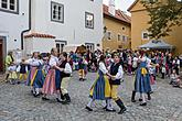 Saint Wenceslas Celebrations and International Folk Music Festival 2018 in Český Krumlov, Friday 28th September 2018, photo by: Lubor Mrázek