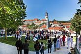 Saint Wenceslas Celebrations and International Folk Music Festival 2018 in Český Krumlov, Saturday 29th September 2017, photo by: Lubor Mrázek