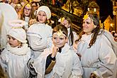 Angelic Procession Through Town Český Krumlov 7.12.2018, photo by: Lubor Mrázek
