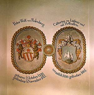 Coat-of-arms of Peter Wok von Rosenberg