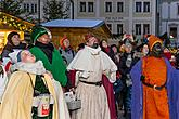Three Kings, 6.1.2019, Advent and Christmas in Český Krumlov, photo by: Lubor Mrázek