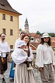 Five-Petalled Rose Celebrations ®, Český Krumlov, Sunday 23. 6. 2018, photo by: Lubor Mrázek