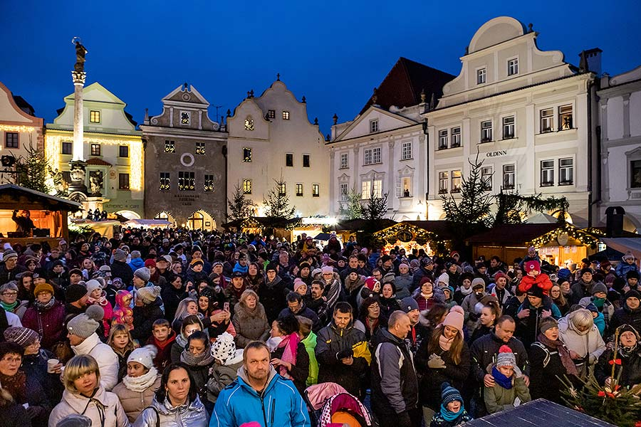 1st Advent Sunday - Advent Opening and Lighting of the Christmas Tree, Český Krumlov, Český Krumlov 1.12.2019