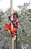 Dětské čarodějnické odpoledne, Kouzelný Krumlov, 29. dubna - 1. května 2008, foto:Lubor Mrázek