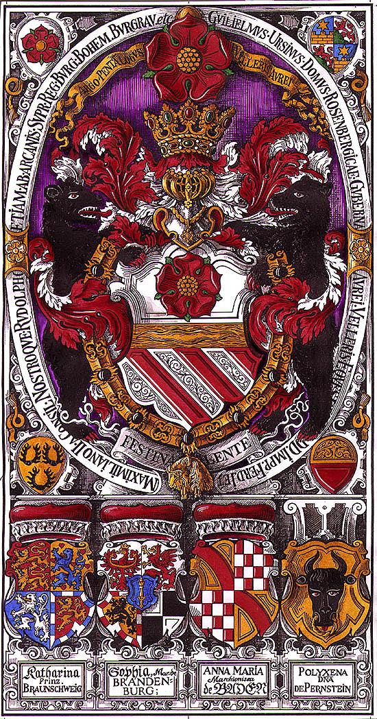 Znak Viléma z Rožmberka