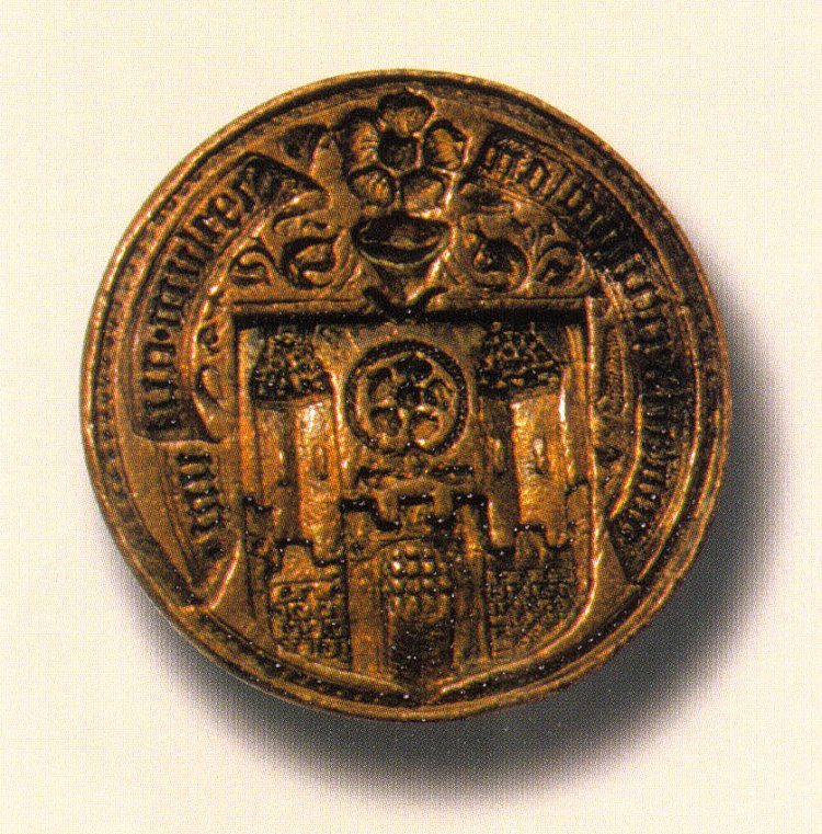 Sealing-stick of Český Krumlov from the 15th century