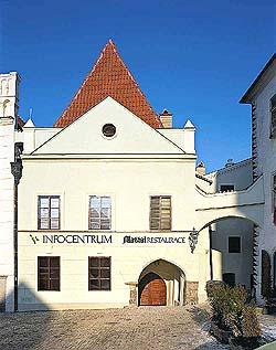 Náměstí Svornosti č. p. 2 Český Krumlov, celkový pohled, foto: Libor Sváček