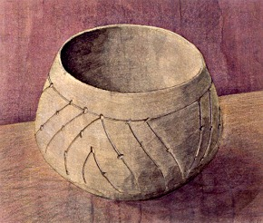 The vessel of the culture with linear pottery coming from Český Krumlov, drawing: Michal Ernée