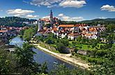 Panorama of the town  Český Krumlov, source: Destination Management of the town of Český Krumlov, photo by: Aleš Motejl