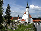 Kájov, Church of Pilgrimage, overview, photo by: Lubor Mrázek