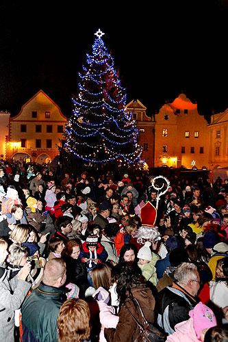 Českokrumlovský advent 2008 ve fotografiích
