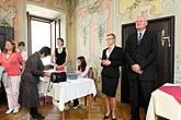 The story of Český Krumlov - book-signing event introducing a publication on the town's history, 28.9.2009, photo by: Lubor Mrázek