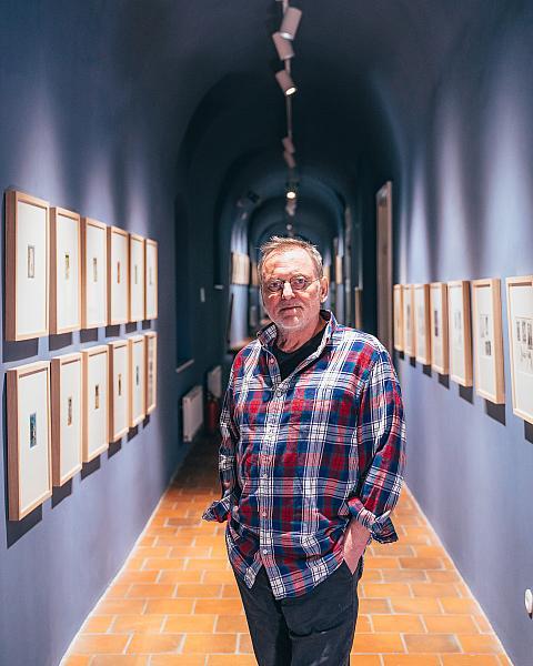 Jindra Čapek provádí Světem fantazie - autorem komentovaná prohlídka výstavy