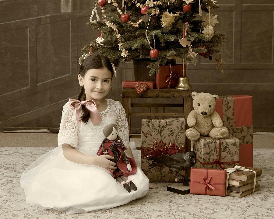 Fotografování s vánočním stromečkem