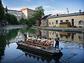 Scenic cruises - wooden rafting