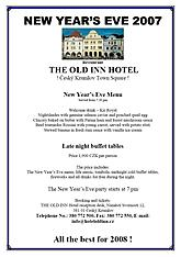 Silvester 2007 - The hotel Old Inn - Restaurants