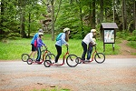 Scooters Krumlov - Kleť Mountain