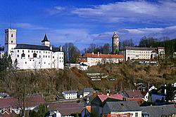Rožmberk nad Vltavou Castle, Upper and Lower Castle