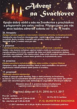 Advent na Svachovce