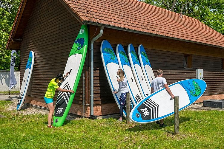 Rental SUP paddleboards